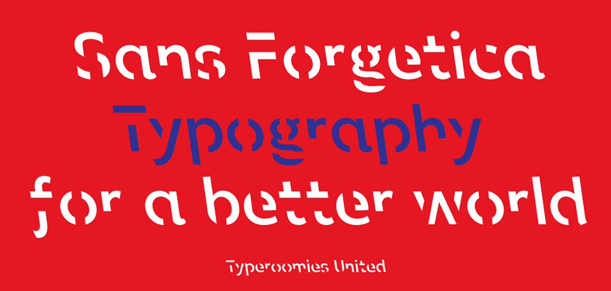 The science of type: Sans Forgetica is probably the world's ultimate study  hack | TypeRoom