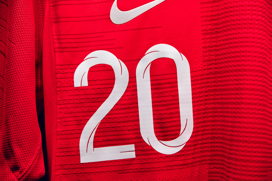 perspectiva Lugar de la noche Rosa  Craig Ward on his typeface for England World Cup Kit 2018 for Nike |  TypeRoom