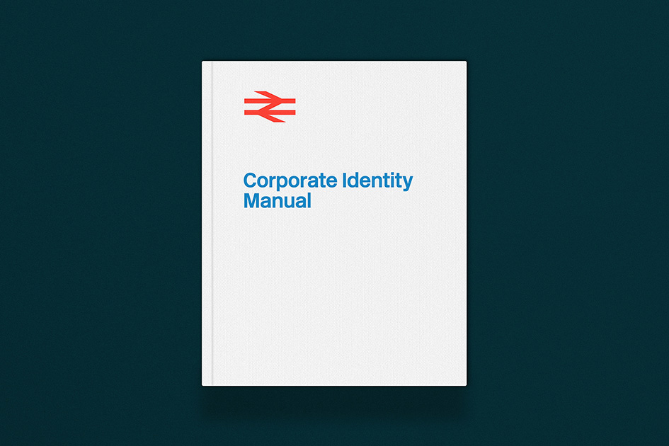 Reproduction Of Iconic British Rail Corporate Identity Manual Manual Guide