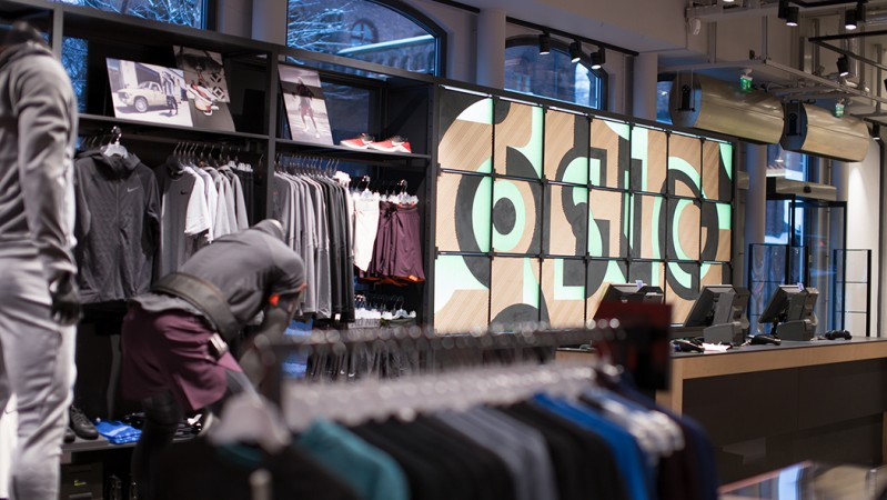 """new arrival 0dbf0 915a4 Oslo"""" custom typeface for Nike is an ode to Nordic design  T"""