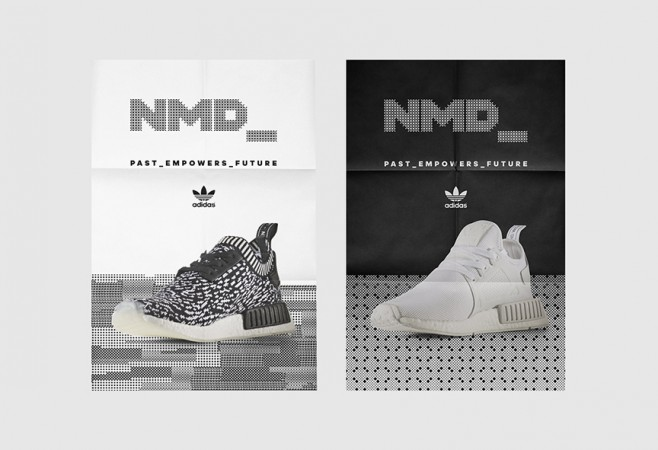 Melon Modern's bespoke typeface for Adidas is fixed to a