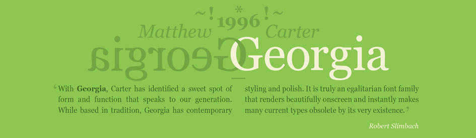 The 25 most admired typefaces of all time by those in the