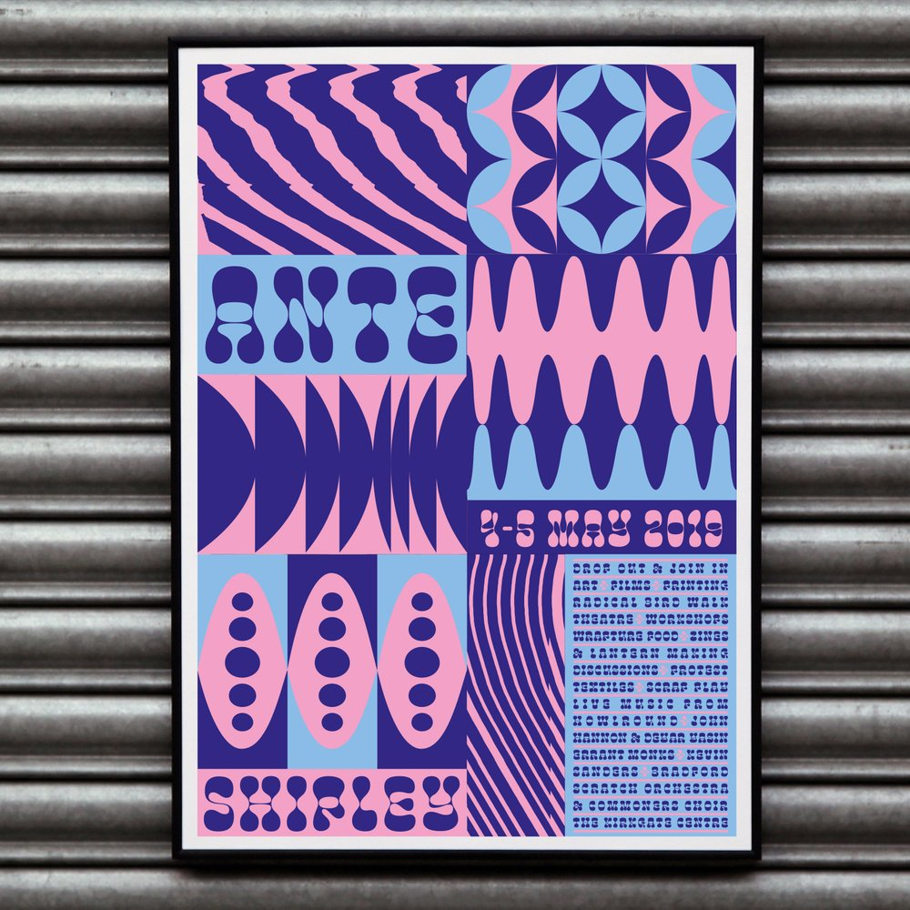 Printing is everything in this week's May Day 2019 ANTE art