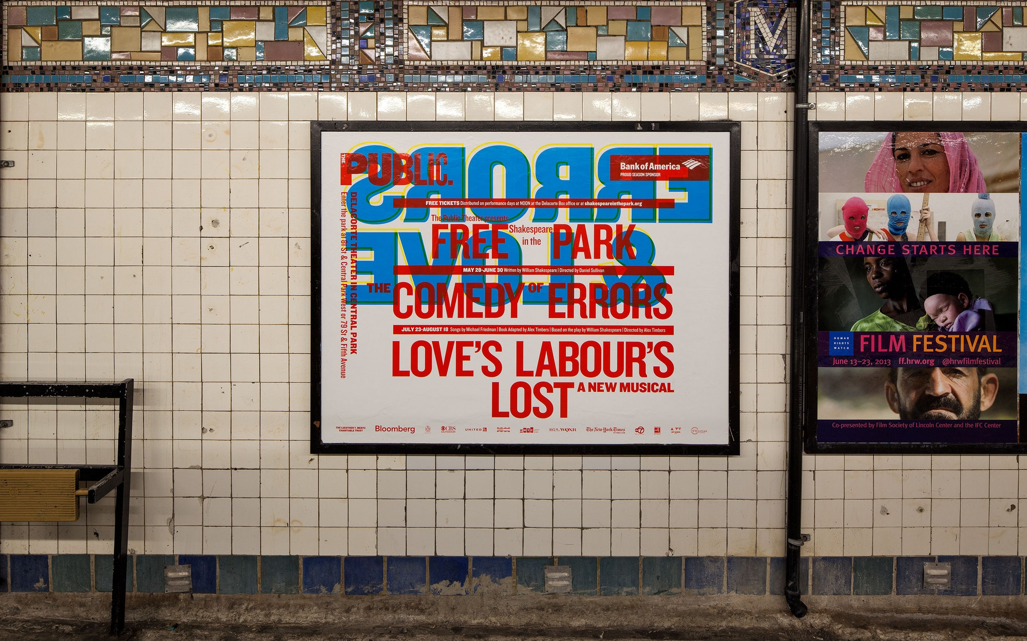War, lust, type! How Paula Scher's typographic affair with The